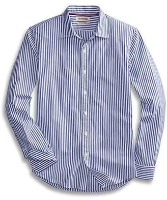Goodthreads Men's Slim-Fit Long-Sleeve Banker Striped Shirt