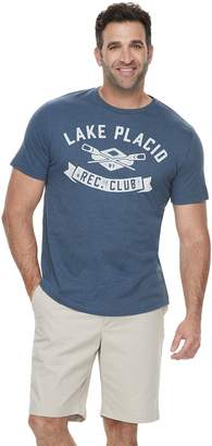 """Sonoma Goods For Life Big & Tall SONOMA Goods for Life """"Lake Placid Rec. Club"""" Graphic Tee"""
