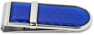 Montblanc Le Petit Prince Stainless Steel And Lacquer Money Clip