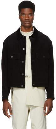Lemaire Black Corduroy Jacket