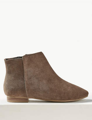 Marks and Spencer Suede Ankle Boots