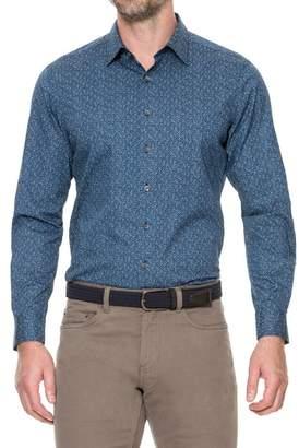 RODD AND GUNN Albany Patterned Linen Original Fit Shirt