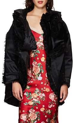 Comme des Garcons Women's Satin & Tulle Evening Coat