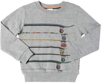 Paul Smith Skate Print Cotton Sweatshirt
