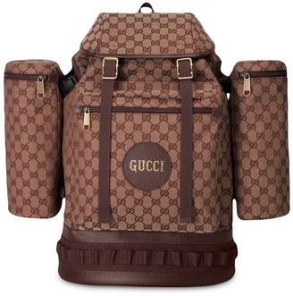 Large GG canvas backpack