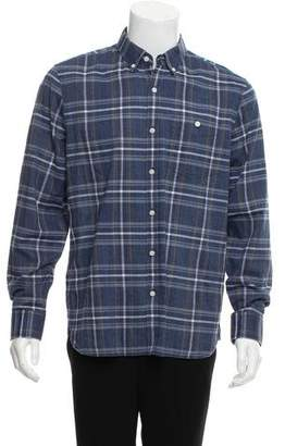 Jack Spade Casual Plaid Shirt