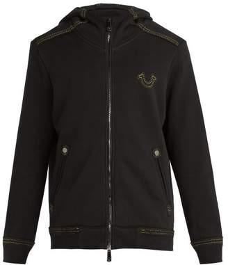 True Religion Qt2 Cotton Hooded Sweatshirt - Mens - Black
