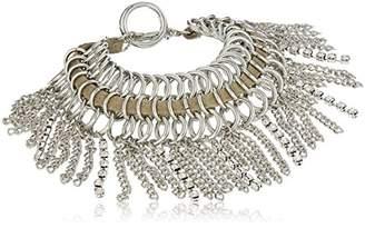 GUESS Nude Metals Women's Fringe Toggle Bracelet