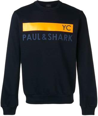 Paul & Shark logo sweatshirt