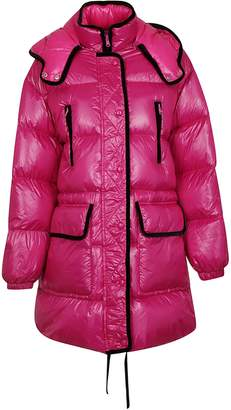 RED Valentino Contrast Trim Padded Jacket