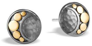 John Hardy Moon Phase Hammered Stud Earring