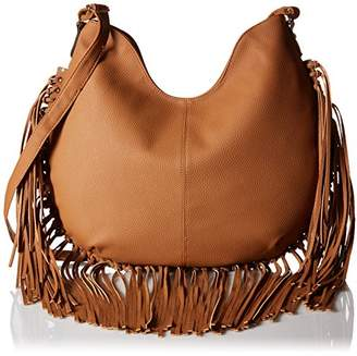 Magid Rebecca and Rifka Faux Leather Fringe Bag