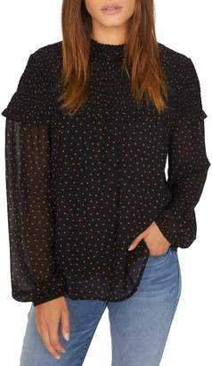 Sanctuary Bria Smocked Blouse
