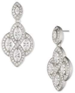 Anne Klein Crystal Sparkling Drop Earrings