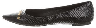 Tory BurchTory Burch Embossed Pointed-Toe Flats