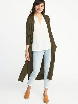Old Navy Super-Long Open-Front Duster for Women