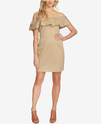 1.state Off-The-Shoulder Flounce Dress $99 thestylecure.com
