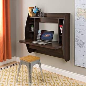 Prepac EEHW-0200-1 Wall Mounted Floating Desk with Storage