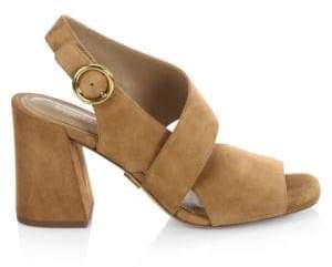 Michael Kors Asher Suede Sandals