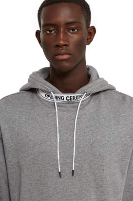 Opening Ceremony Banded Short Sleeve Hoodie