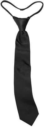 Calvin Klein Big Boys Solid Vellum Zipper Necktie
