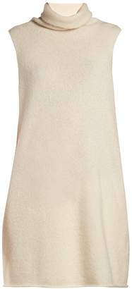 The Row Leond silk and cashmere sleeveless top