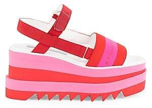 Stella McCartney Women's Sneakelyse Platform Sandals