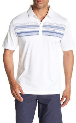 Travis Mathew Nino Stripe Polo