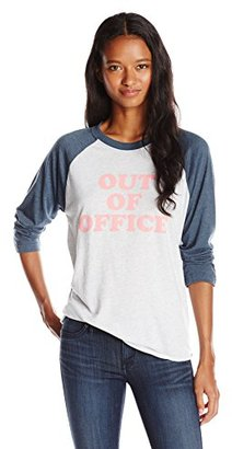 Sub_Urban RIOT Juniors Out of Office Baseball Graphic Tee $28.81 thestylecure.com