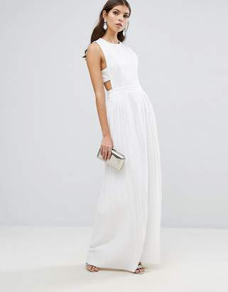 ASOS Pleated Tabard Maxi Dress $87 thestylecure.com