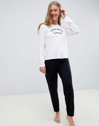 Adolescent Clothing little spoon long pyjama set