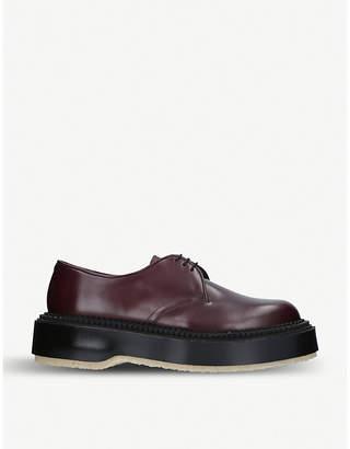 Adieu x Undercover 54C platform leather derby shoes