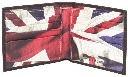 Ben Sherman Flag Print Wallet