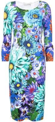 Mary Katrantzou floral print bodycon dress