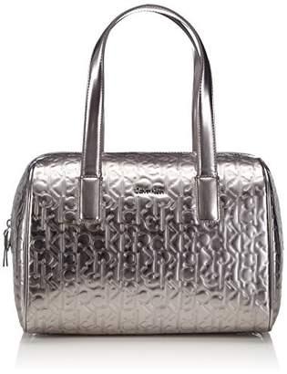 Calvin Klein Jeans Womens Maggie 2 Large Duffle Top-Handle Bags J6EJ600192(B x H x T)