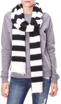 Liebeskind Berlin Wool-Blend Chunky Knit Stripe Scarf