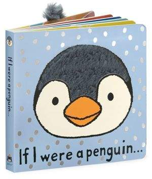 Jellycat Kid's If I were A Penguin Book