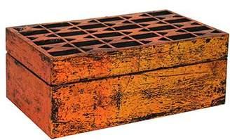 Mela Artisans Solitaire Jewelry Box Copper over Black