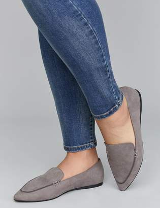Lane Bryant Pointed-Toe Loafer