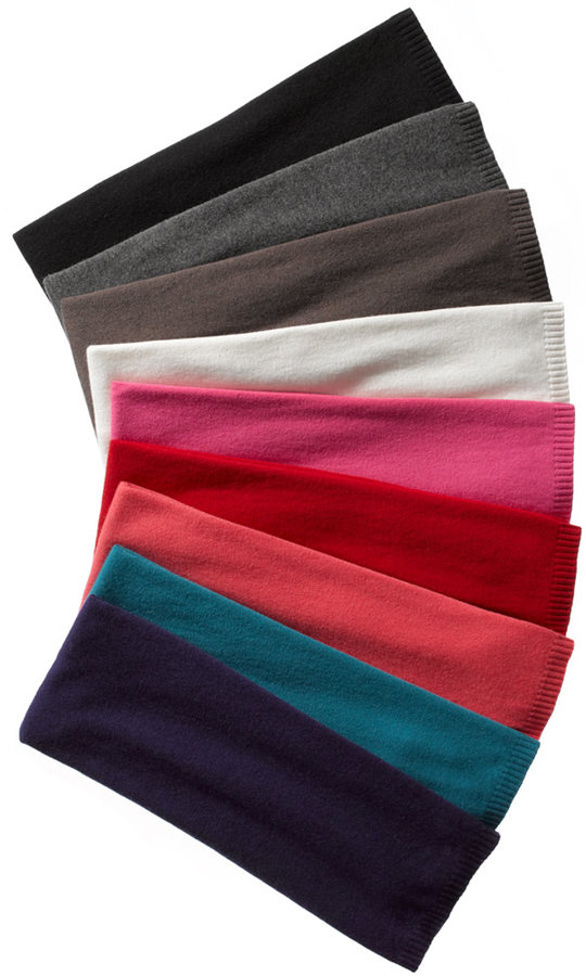 Charter Club Oversized Solid Touch of Cashmere Scarf