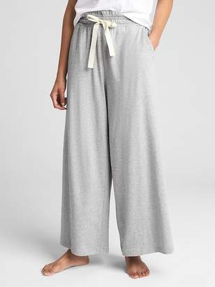 Gap Wide-Leg Pants in French Terry