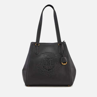 Lauren Ralph Lauren Women's Merrimack Reversible Medium Tote Bag - Black