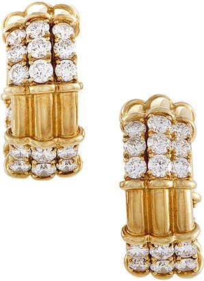 Piaget Heritage  18K 5.50 Ct. Tw. Diamond Earrings