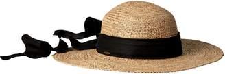 Scala Women's Big Brim Raffia Hat