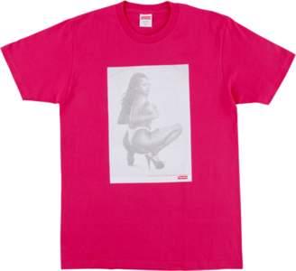 Supreme Digi Tee - 'SS 17' - Hot Pink