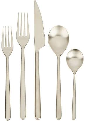 Mepra Linea Ice Champagne 5-Piece Place Setting