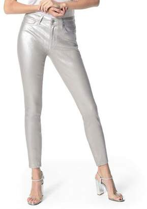 Joe's Jeans The Charlie Metallic Ankle Skinny Jeans