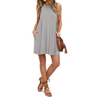The Plus Project Womens Summer Sundress Swing