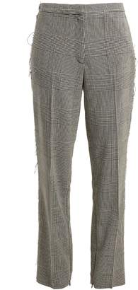 Golden Goose Armida Prince of Wales-check wool trousers