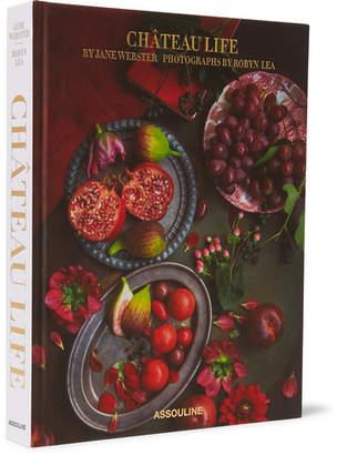 Assouline Château Life Hardcover Book